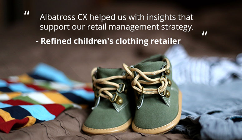 Insights that support CX strategy
